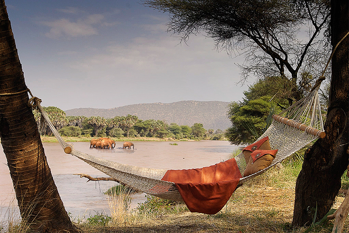 Elephant Bedroom - a great camp by the river - Wildlife ...