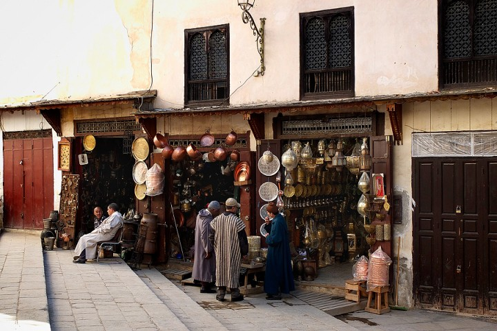 Brassware, Place Seffarine
