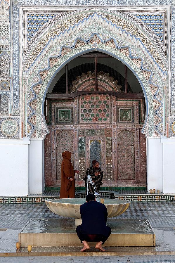 A peek into the Qaraouiyine Mosque