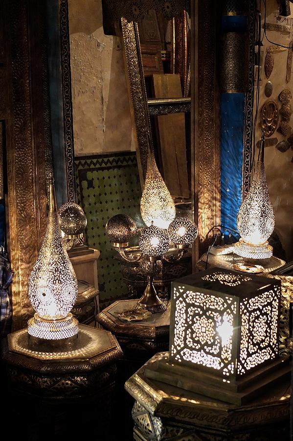 Metal work lamps