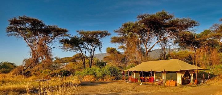 Lemala Lake Manyara - Mess Tent