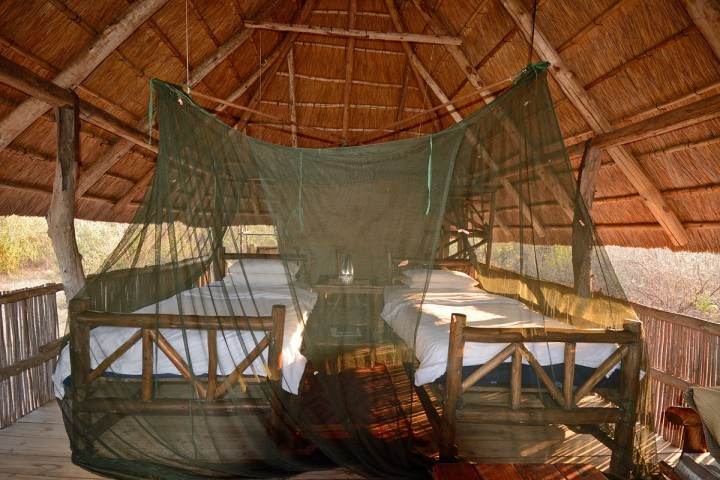 Rhini Safari Camp - guest room