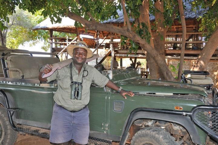 Steve - our guide at Rhino Safari Camp