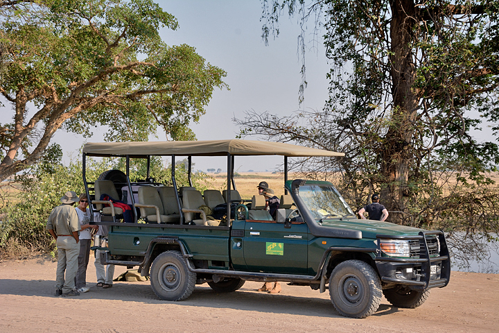 Typical open game vehicle - roof on