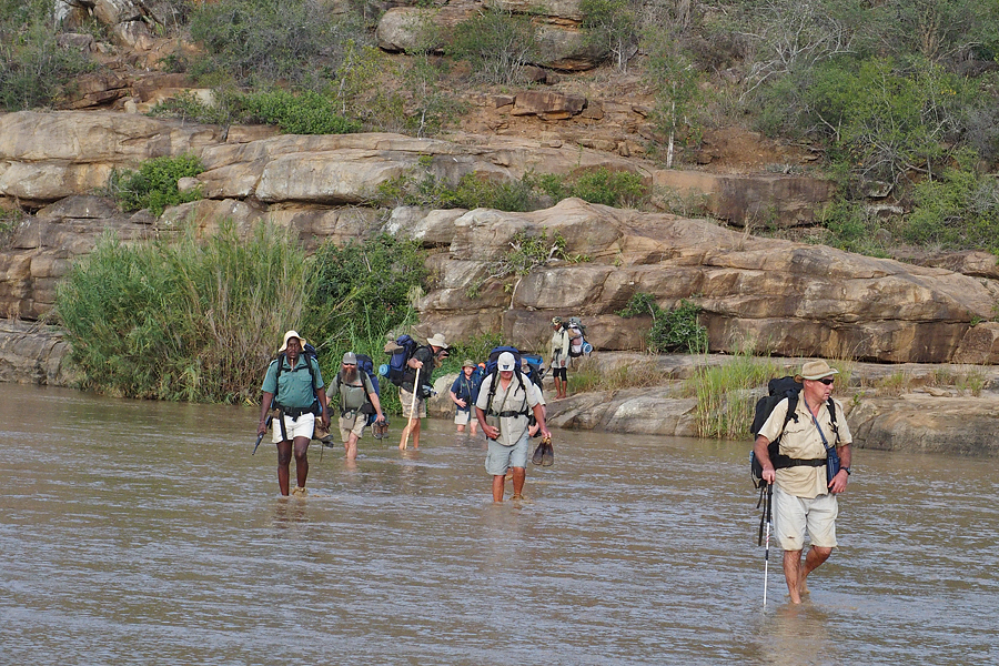 Crossing the White Umfolozi