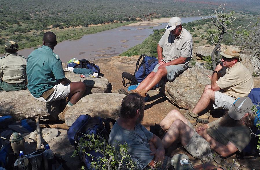 On Shaka's Rock