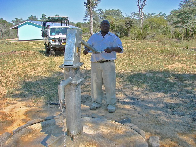 A new pump at Ngamo