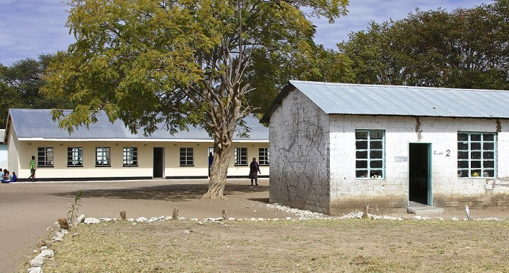 Classrooms - old and new