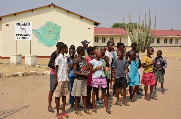 Ngamo schoolchildren