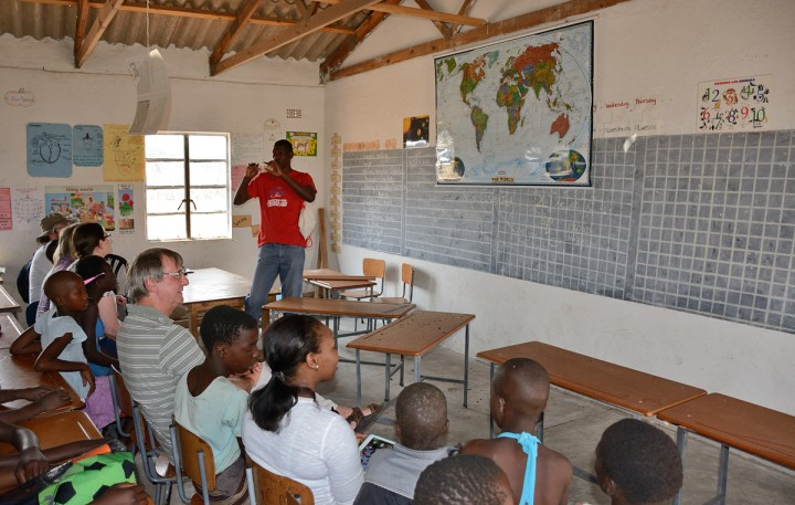 Typical Ngamo classroom