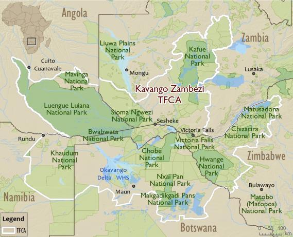 Kavango Zambezi Transfrontier Conservation Area
