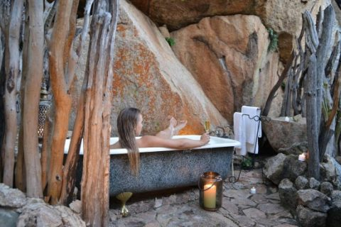 Amalinda Lodge, bathroom