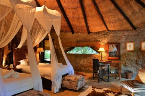 Amalinda Lodge, guest room