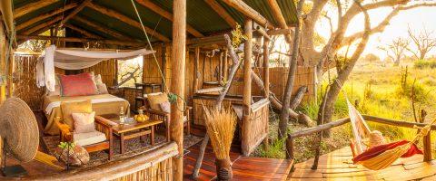 Guest chalet, Delta Camp, Okavango Deltam Chief's Island