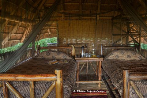 Rhino Safari Camp, guest bedroom