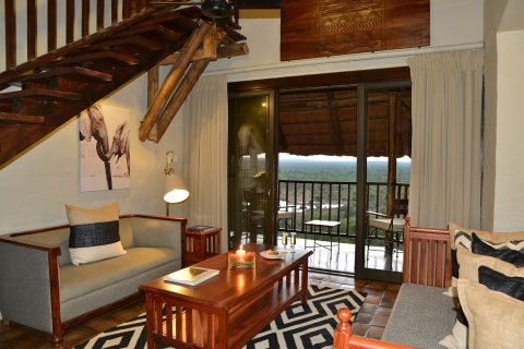 Victoria falls safari Lodge, suite - lounge area