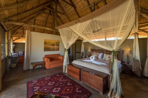 camp hwange guest bedroom