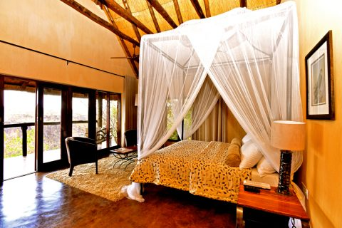 guest room at Gorges Lodge, Victoria Falls