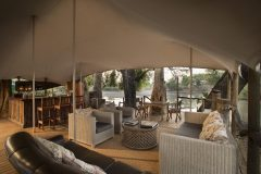 kanga camp lounge area