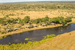 Kwando Lagoon, Okavango Delta Botswana