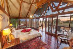 Kwando Lebala, guest room