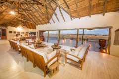 Nxai Pan lodge, lounge area