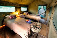 Guest tent, interior