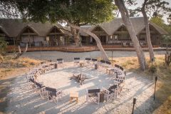 Kwando Splash, Main lodge area