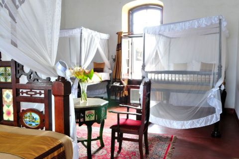 dhow palace hotel, guest room
