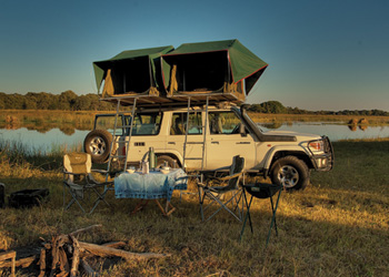 fully equipped Toyota Landcruiser