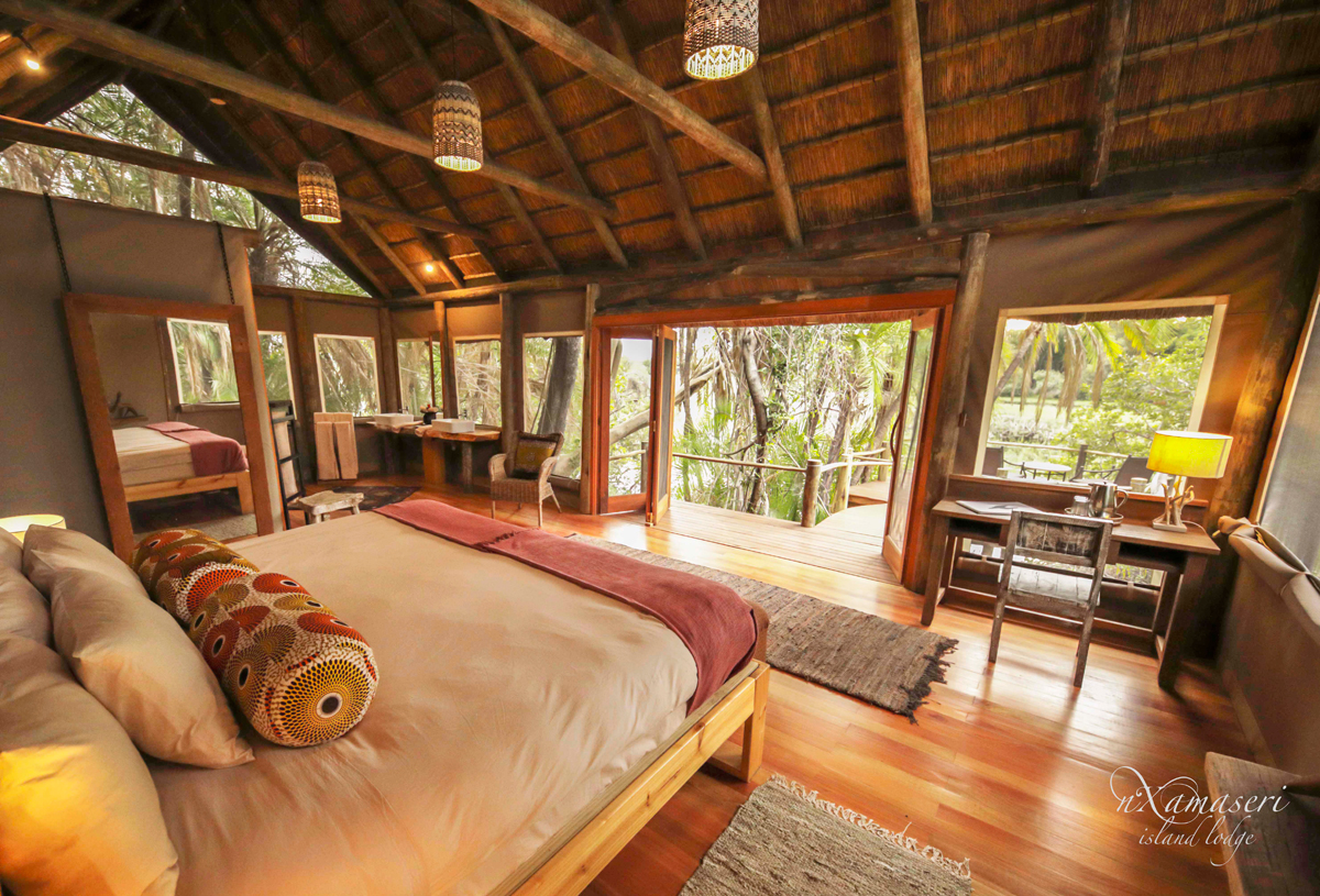 Nxamaseri Island Lodge - guest chalet