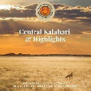 Central Kalahari and highlights
