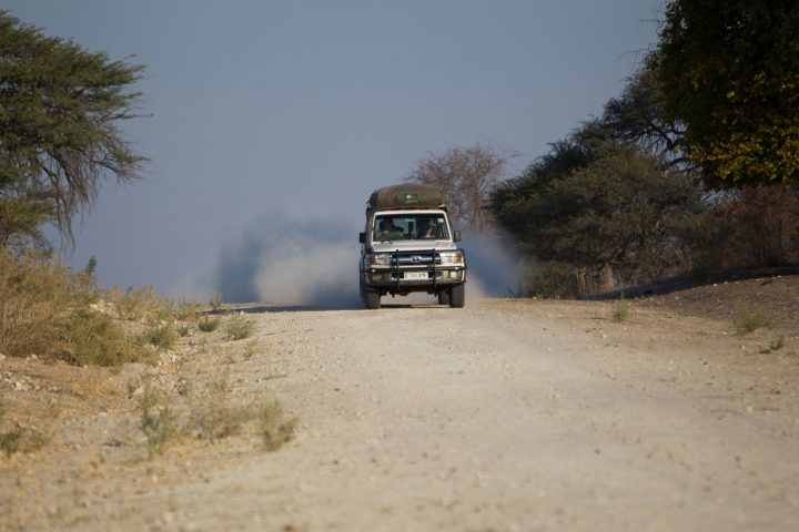 Toyota-Landcruiser-on-the-road