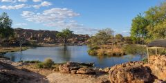 Tuli Safari Lodge_waterhole