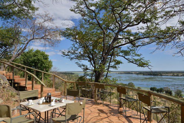 Muchenje Safari Lodge, view from the deck